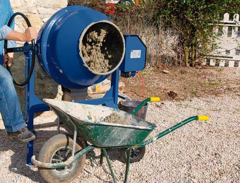 Buying or rent concrete mixer