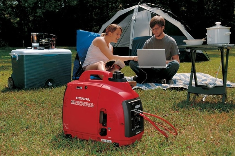 Learning how to start a gasoline generator