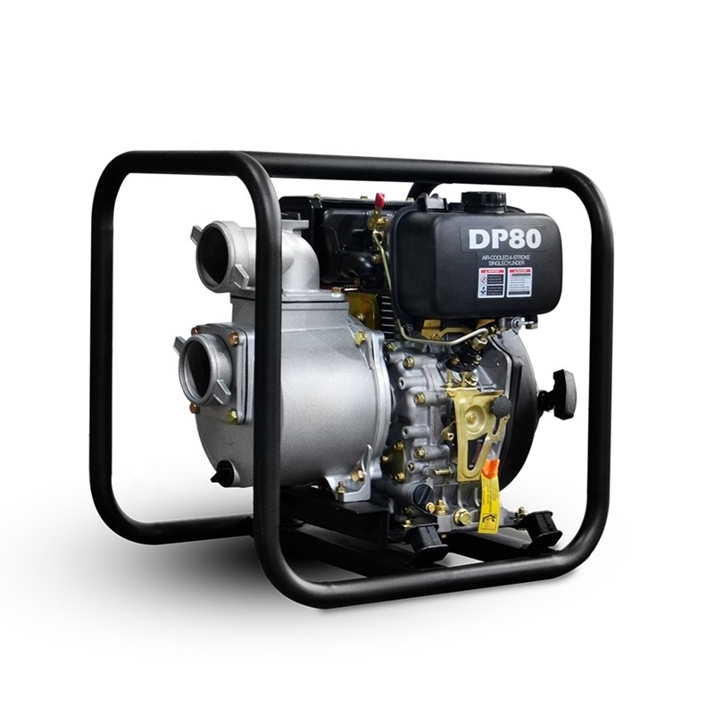 Why large pump motors are made diesel