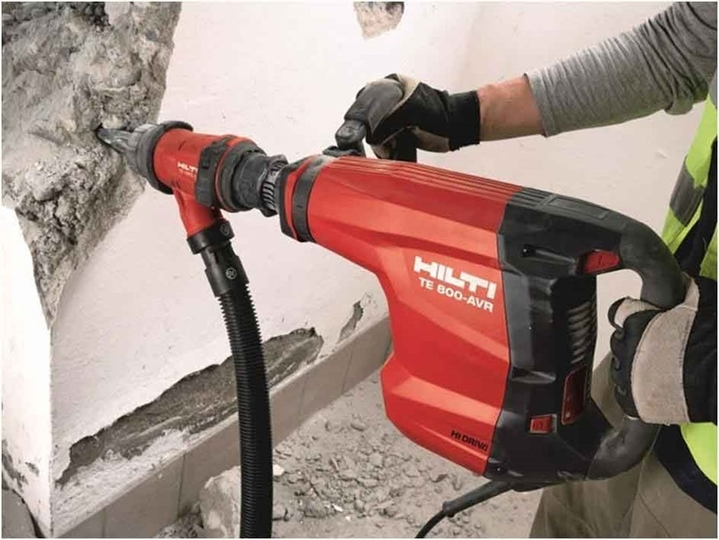 What are the different sizes of demolition hammer?