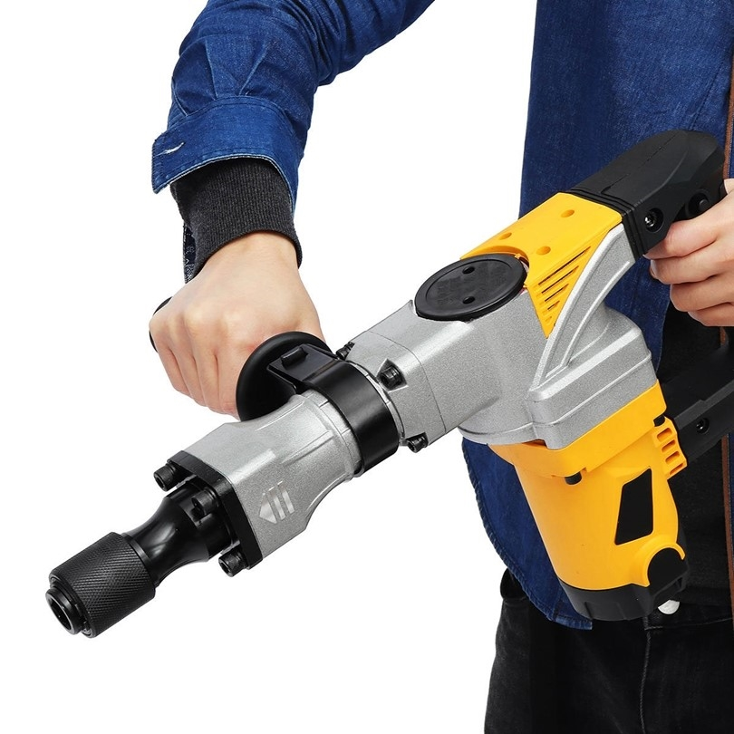 What are the main reasons for the destruction of the demolition hammer?