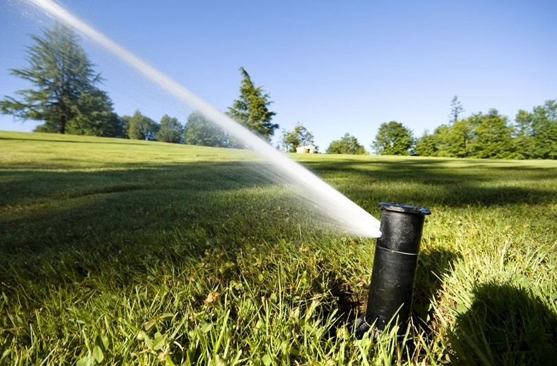 what are Types of hidden green space sprinklers
