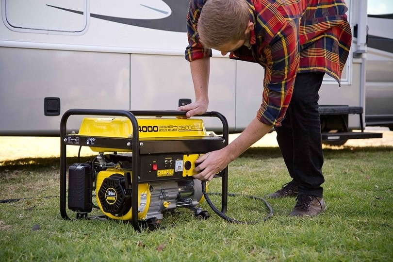 which generator is suitable for the villa