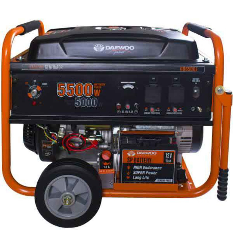 What is the type of gasoline and diesel generator oil?
